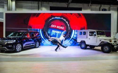 urban offroad interactive dance battle